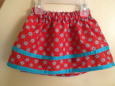 Double Layer Toddler Skirt