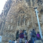 Enjoying Barcelona. #sagradafamilia #barcelona #gaudi #coolarchitecture #sagrada #basillica