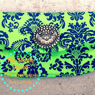 The Simple Clutch Tutorial with Free Pattern