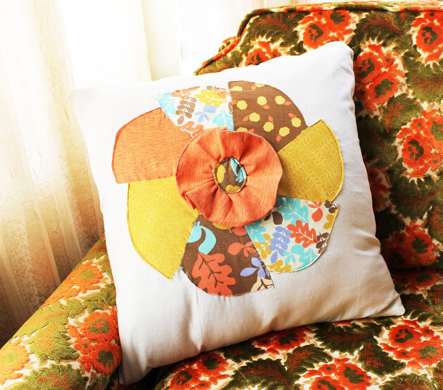 Fall Inspired Pinwheel Pillow Case Free Pattern The