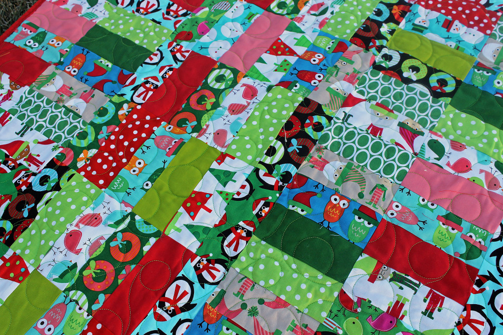 Jelly Roll Jam Christmas Quilt The Stitching Scientist