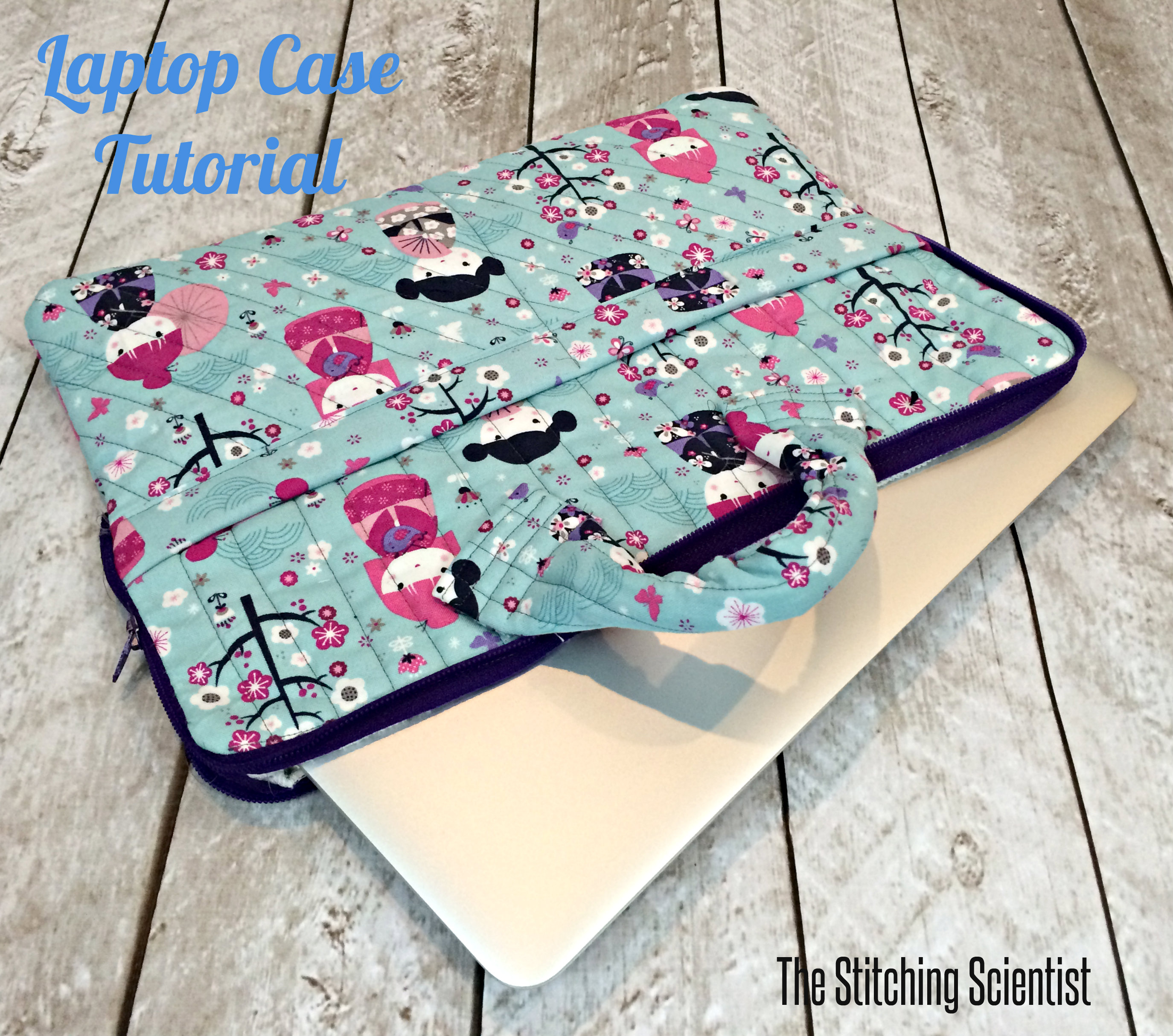Sew a laptop case