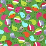 Ann Kelle Jingle Fabric Giveaway