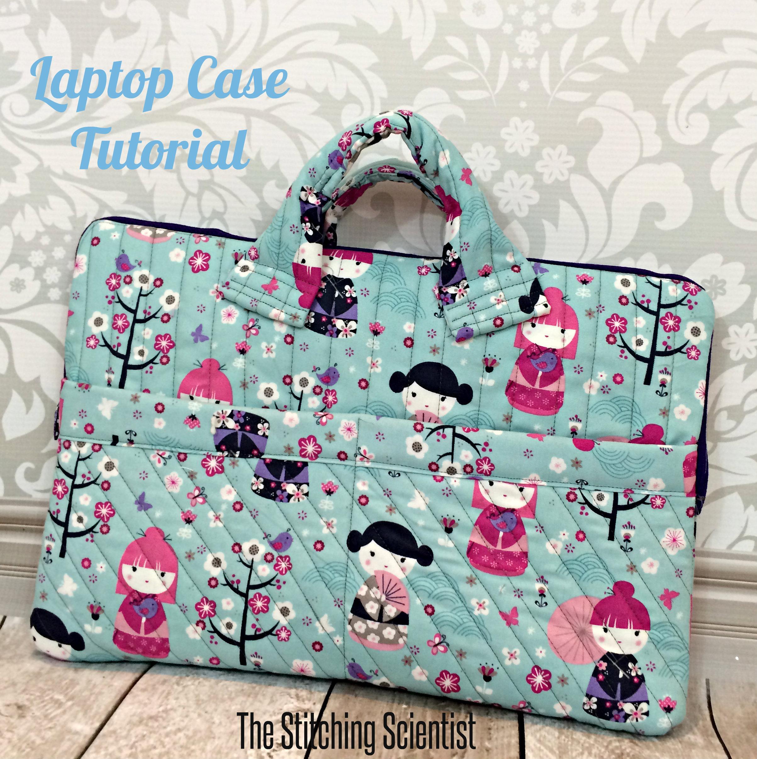 Sew a laptop case : quilted messenger bag pattern - Adamdwight.com