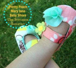 Classic Skid-Free Baby Mary Jane Shoes Tutorial and Free Pattern