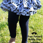 Ruffle Skirt Leggings