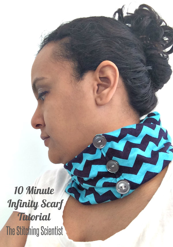 10 Minute Infinity Scarf