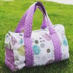 Loving my new overnight duffel bag. @freepattern on the #blog.…