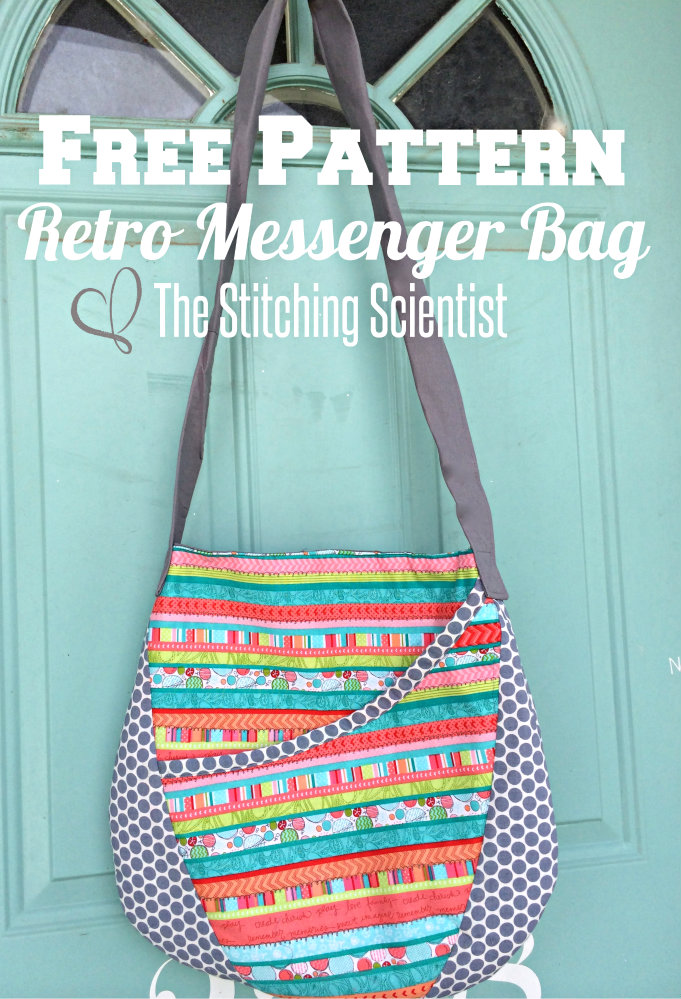 Free Patterns For Bags : Free Bag Patterns- Oval Messenger Bag Free Sewing Patterns