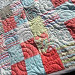 Easy Fat Quarter Patchwork Quilt with Free Pattern