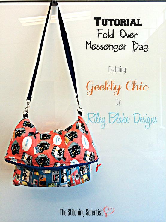 Fold Over Messenger Bag