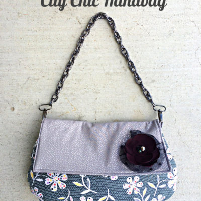 City Chic Handbag with Free Pattern