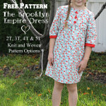 Free Pattern The Brooklyn Empire Dress
