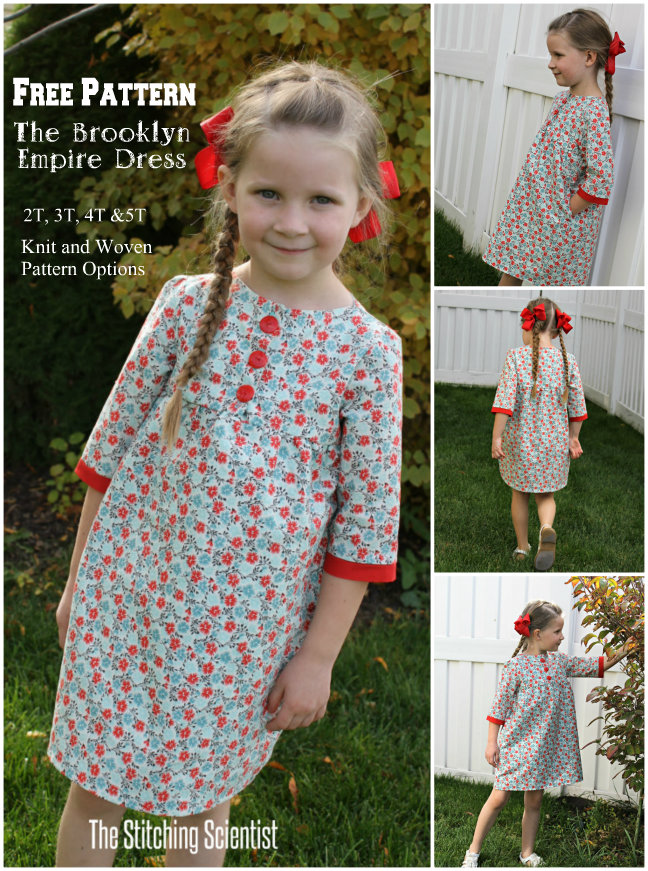 Brooklyn Empire Dress Pattern