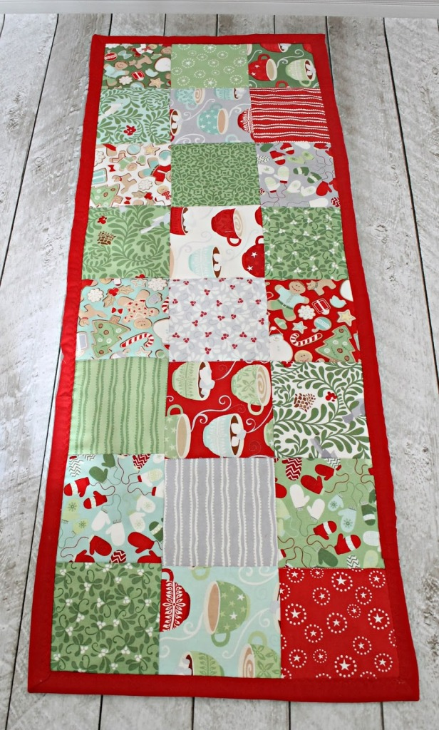 Simple a  to How The patterns  Runner to runner   Review make Pattern Stitching table  Table make