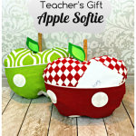 Apple Softie Teacher's Gift