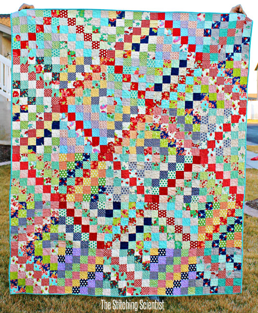 Quilt In A Day Patterns Trip Around The World : Scrappy Trip Along Quilt Pattern The Stitching Scientist