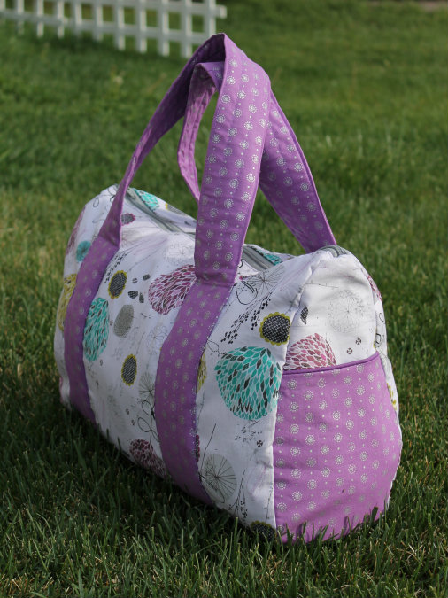 Free Pattern Overnight Duffel Bag | The Stitching Scientist : quilted duffle bag pattern free - Adamdwight.com