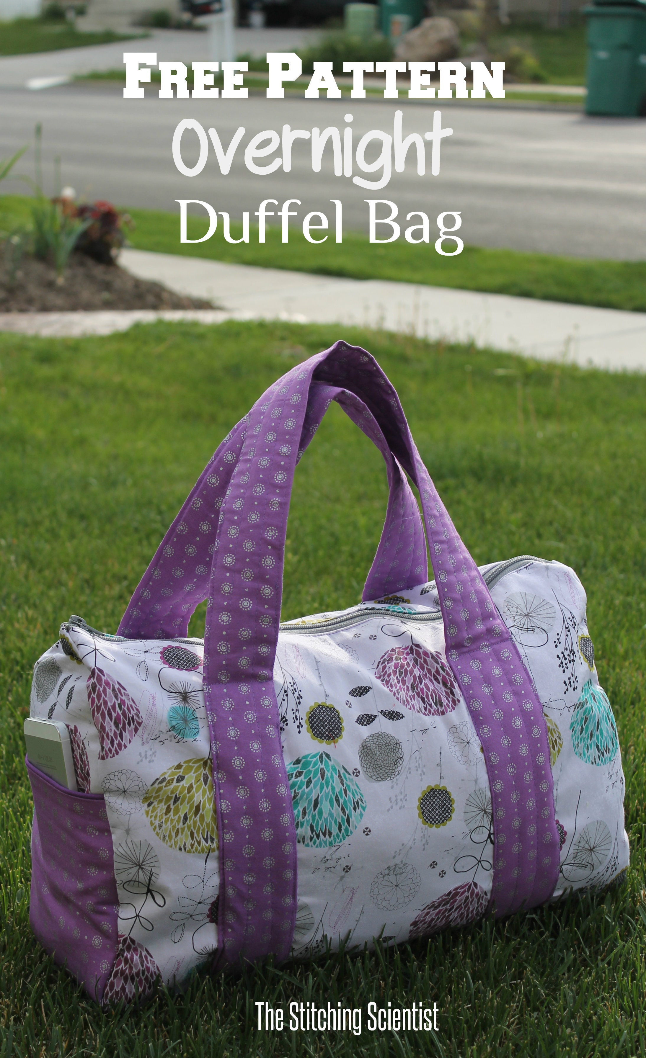 Free Pattern Overnight Duffel Bag | Free Sewing Patterns