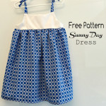Free Pattern Sunny Day Toddler Dress