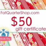 The Fat Quarter Shop Anniversary Giveaway