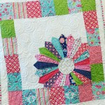 Free baby quilt pattern featuring mellyandme and rileyblakedesigns Lovely quiltinghellip