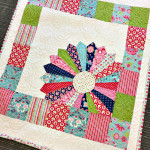 Baby Quilt Pattern: Dresden Window Pane