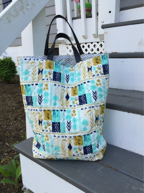 Quilted Tote Tutorial The Stitching Scientist