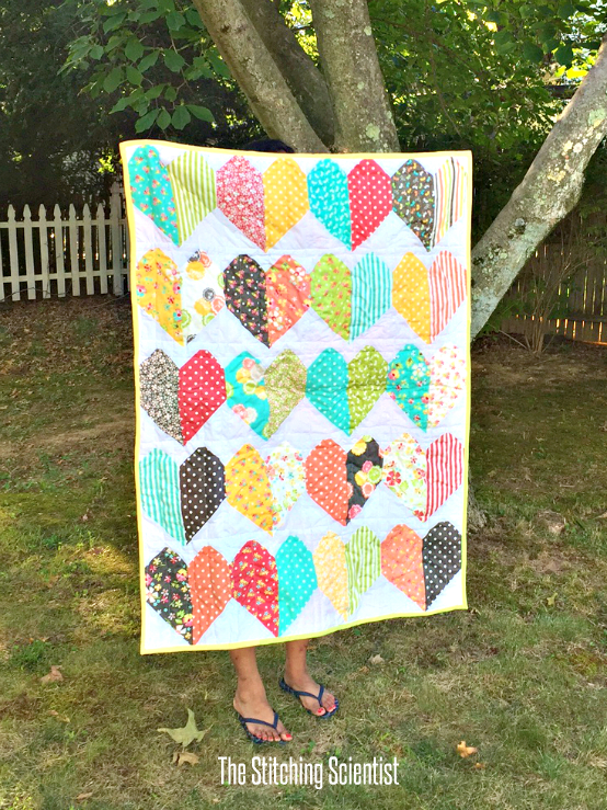 hearts quilt