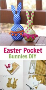 Easter Pocket Bunny
