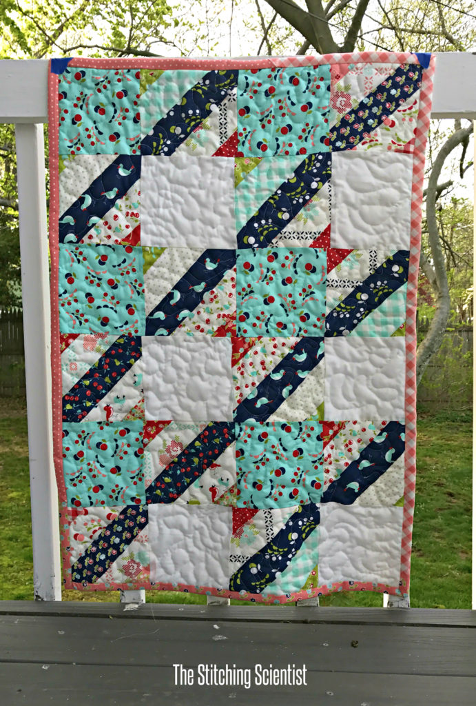 Jelly Roll Check Quilt Pattern