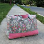 Vera Bradley inspired DIY Carryon Duffel Bag