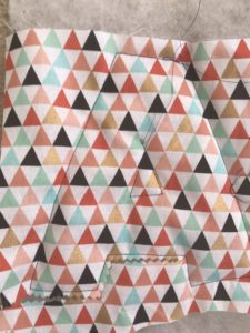 letter fabric
