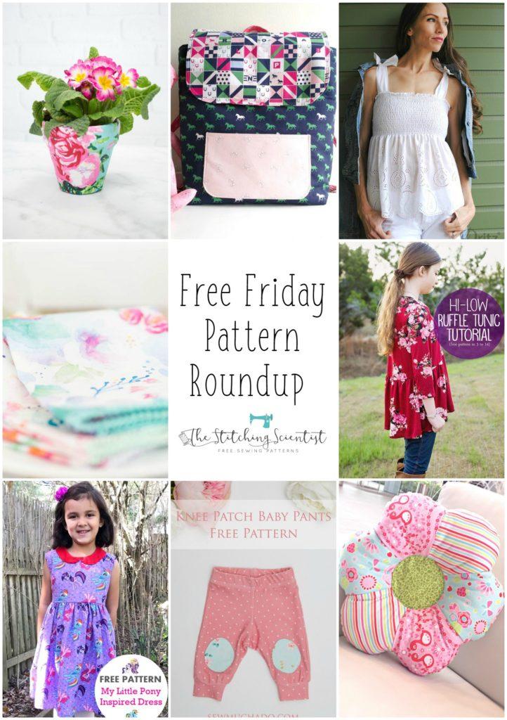 Spring Free Pattern