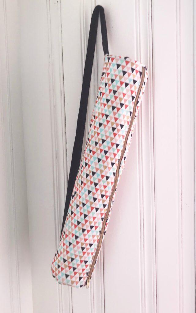 06159ec77a Free Yoga Mat Bag Sewing Pattern Supplies
