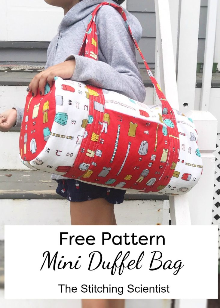 Free Mini Duffel Bag Pattern