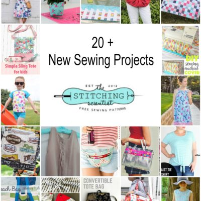 20 New Sewing Projects