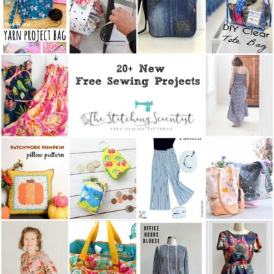 20 New Free Sewing Patterns